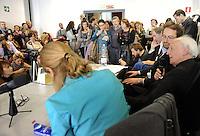 """Roma 29 Ottobre 2011.Salone dell'Editoria sociale nello spazio di """"Porta futuro"""".Lectio Magistralis del Sociologo Zygmunt Bauman :""""Quali sono i problemi sociali oggi?"""""""