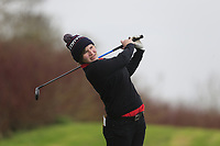 Baylie Pyke (England) during the second round of the Irish Girls' Open Stroke Play Championship, Roganstown Golf Club, Swords, Ireland. 14/04/2018.<br /> Picture: Golffile | Fran Caffrey<br /> <br /> <br /> All photo usage must carry mandatory copyright credit (&copy; Golffile | Fran Caffrey)