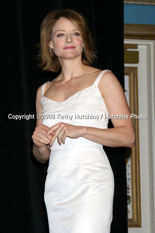 Jodie Foster.ShoWest Awards .Paris Hotel & Casino.Las Vegas, NV.Match 13.2008.©2008 Kathy Hutchins / Hutchins Photo....