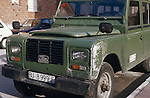 Spain 1990. Spanish Land Rover Santana Series 3 6-cyl 109 Station Wagon. --- No releases available. Automotive trademarks are the property of the trademark holder, authorization may be needed for some uses. --- Info: From the mid 1950's untill the early 1990's the english Land Rover was also built under license in Spain. The spanish company Metalurgica de Santa Ana (later to become Santana Motor SA), was producing Land Rovers in the beginning from CKD kits, but local content was gradually increased until the Santanas (this is how they were called) were 100 per cent locally manufactured.