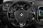 Steering wheel view of a 2013 Renault Captur Intens SUV