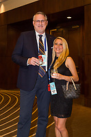 Orlando, FL - Saturday February 10, 2018: Anniversary Dinner Reception, Participants, Catherine Juliano during U.S. Soccer's Annual General Meeting (AGM) at the Renaissance Orlando at SeaWorld.