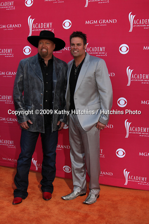 Montgomery Gentry   arriving at the 44th Academy of Country Music Awards at the MGM Grand Arena in  Las Vegas, NV on April 5, 2009.©2009 Kathy Hutchins / Hutchins Photo....                .