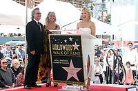 HOLLYWOOD, CA - MAY 04: Kurt Russell, Goldie Hawn and Kate Hudson pictured at the ceremony honoring Goldie Hawn and Kurt Russell with a double star ceremony on The Hollywood Walk of Fame on May 4, 2017 in Hollywood, California. Credit: Faye Sadou/MediaPunch