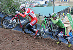 January 10, 2016 - Asheville, North Carolina, U.S. -  Men's elite cycling action during the USA Cycling Cyclo-Cross National Championships at the historic Biltmore Estate, Asheville, North Carolina.