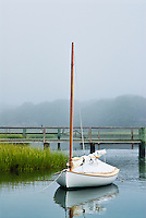 Lone boat, Osterville, Cape Cod, MA