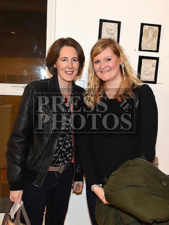 Claire Prendergast and Maria Massak at Mornington Gospel Choir 20th anniversary show in the Droichead Arts Centre. Photo:Colin Bell/pressphotos.ie