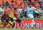 Junior venció 1-2 a Independiente Medellín. Fecha 6 Liga Águila I-2018.