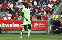 Yaya Toure of Manchester City during the Barclays Premier League match between Swansea City and Manchester City played at The Liberty Stadium, Swansea on 15th May 2016