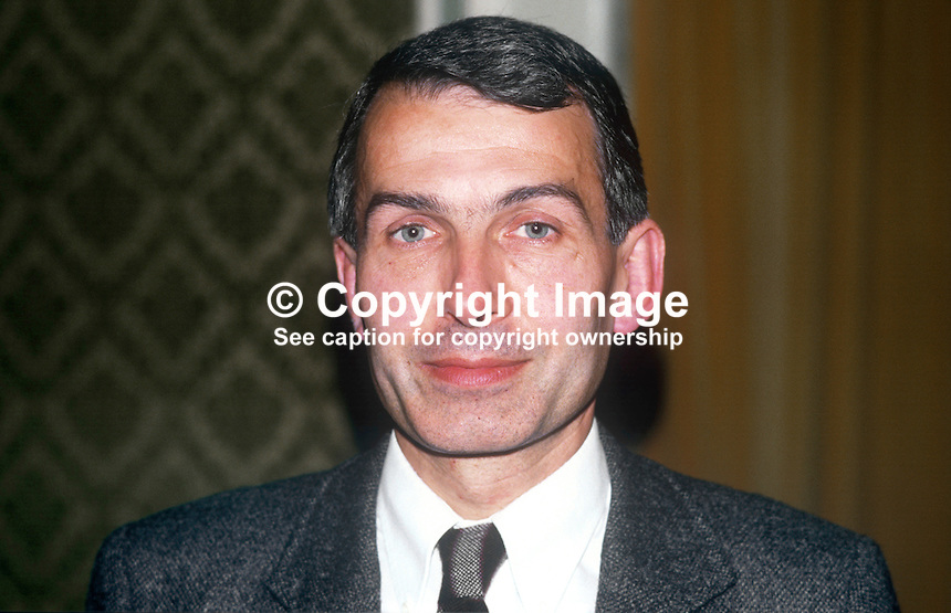 Frank Field, MP, Labour Party, UK, 19860933FF<br />
