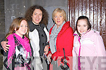 Mary Healy, Ann, Joan and Clare Kenny who enjoyed Ballymac Drama group production of Brush with a Body in Castleisland Ivy Leaf theatre on Sunday night