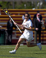Boston College midfielder Sam Taylor (14). Boston College defeated Yale University, 16-5, at Newton Campus Field, April 28, 2012.