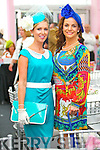 Siobhan Walsh and Pricilla Cronin, Newcastlewest pictured at Galway Races ladies day on Thursday at Ballybrit racecourse.
