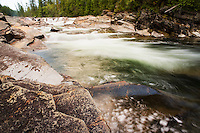 The Yaak River flows toward its confluence with the Kootenai River near Libby, Montana.