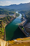 Sacramento River as seen from Shasta Dam, Shasta County, California