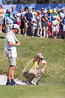 Miguel Angel Jimenez (ESP) during the third round of the Mutuactivos Open de Espana, Club de Campo Villa de Madrid, Madrid, Madrid, Spain. 05/10/2019.<br /> Picture Hugo Alcalde / Golffile.ie<br /> <br /> All photo usage must carry mandatory copyright credit (© Golffile | Hugo Alcalde)