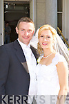 Geraldine, daughter of Celia O'Shea, Kilmurray, Macroom and Miche?al, son of Annie and the late Paddy O'Donoghue, Clonkeen, Glenflesk who were married on Friday in St Mary's Cathedral, Killarney. Fr Johnny O'Donoghue officiated at the ceremony. Best man was Johnny Allen and groomsmen were Danny Lynch, Peter McSweeney and Stiana O'Donoghue. Bridesmaids were Ann O'Shea, Sandra Hickey, Nora Hickey and Fiona O'Donoghue. Flowergirls were Muireann Darcy, Aine Walsh and Sarah O'Shea. Pageboys were Eoin Walsh and Patrick Darcy. The reception was held in the Malton Hotel, Killarney and the couple will reside in Clonkeen.