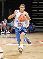 Kendall Marshall moves the ball during the NBA Top 100 Camp held Saturday June 23, 2007 at the John Paul Jones arena in Charlottesville, Va. (Photo/Andrew Shurtleff)