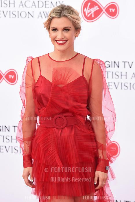 Ashley Roberts arriving for the BAFTA TV Awards 2018 at the Royal Festival Hall, London, UK. <br /> 13 May  2018<br /> Picture: Steve Vas/Featureflash/SilverHub 0208 004 5359 sales@silverhubmedia.com