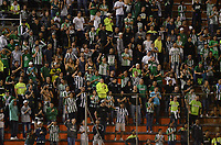 ENVIGADO-COLOMBIA- 24-09-2017. Hinchas del Atlético Nacional.Acción de juego entre el Envigado FC y el Atlético Nacional  durante encuentro  por la fecha 13 de la Liga Aguila II 2017 disputado en el estadio Polideportivo Sur./ Fans of Atletico Nacional. Action game between  Envigado FC and Atletico Nacional during match for the date 24 of the Aguila League II 2017 played at Polideportivo Sur stadium . Photo:VizzorImage / León Monsalve / Contribuidor