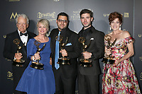 LOS ANGELES - APR 29:  Nicolas Coster, Mary Beth Evans, Gregori J. Martin, Kristos Andrews, Carlyn Hennesy at the 2017 Creative Daytime Emmy Awards at the Pasadena Civic Auditorium on April 29, 2017 in Pasadena, CA
