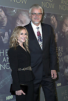 LOS ANGELES, CA - FEBRUARY 05: Holly Hunter and Tim Robbins at the Here And Now Los Angeles Premiere at the  DGA Lot on February 5, 2018 in Los Angeles, California. <br /> CAP/MPI/DE<br /> &copy;DE//MPI/Capital Pictures