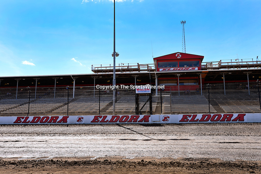 Jun 5, 2014; 3:10:09 PM; Rossburg, OH., USA; The 20th annual Dirt Late Model Dream XX in an expanded format for Eldora's $100,000-to-win race includes two nights of double features, 567 laps of action  Mandatory Credit:(thesportswire.net)