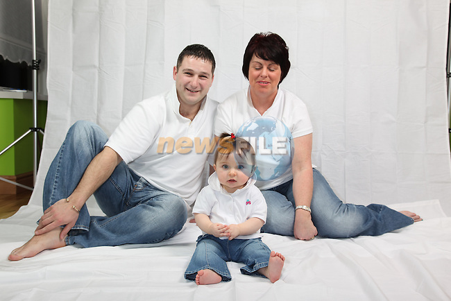 The Dowd Family..Photo: Fran Caffrey/www.newsfile.ie...