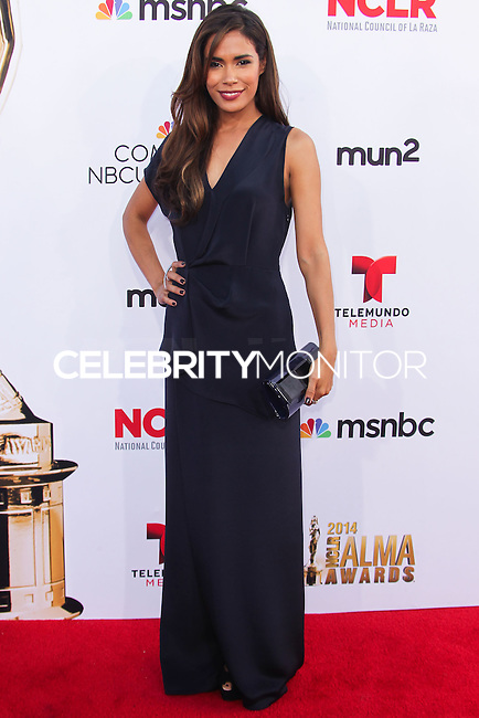 PASADENA, CA, USA - OCTOBER 10: Daniella Alonso arrives at the 2014 NCLR ALMA Awards held at the Pasadena Civic Auditorium on October 10, 2014 in Pasadena, California, United States. (Photo by Celebrity Monitor)