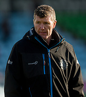 Exeter Chiefs' Head Coach Rob Baxter<br /> <br /> Photographer Bob Bradford/CameraSport<br /> <br /> Gallagher Premiership - Harlequins v Exeter Chiefs - Saturday 29th February 2020 - Twickenham Stoop - London<br /> <br /> World Copyright © 2020 CameraSport. All rights reserved. 43 Linden Ave. Countesthorpe. Leicester. England. LE8 5PG - Tel: +44 (0) 116 277 4147 - admin@camerasport.com - www.camerasport.com