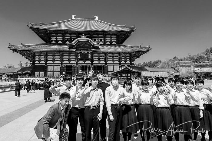 Nara, temple Todai-ji