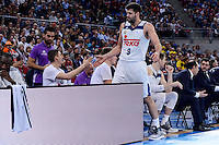 Real Madrid's Felipe Reyes during 2017 King's Cup match between Real Madrid and Valencia Basket at Fernando Buesa Arena in Vitoria, Spain. February 19, 2017. (ALTERPHOTOS/BorjaB.Hojas) /NortEPhoto.com