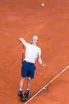 Andy Murray during  Mutua Madrid Open Tennis 2017 at Caja Magica in Madrid, May 09, 2017. Spain.