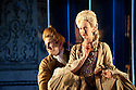 "London, UK. 19/05/2011.  ""School for Scandal"" opens at the Barbican. Matilda Ziegler as Lady Sneerwell. Photo credit should read Jane Hobson"