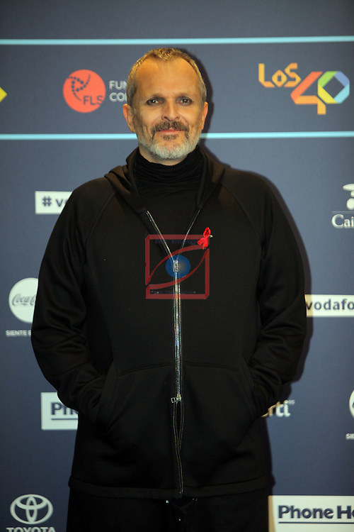 Los 40 MUSIC Awards 2016 - Photocall.<br /> Miguel Bose.