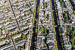 Nederland, Noord-Holland, Amsterdam, 27-09-2015; noordelijk deel van de Jordaan en aangrenzend begin van de 9 straatjes. Prinsengracht en Keizergracht.  (<br /> Jordaan neigbourhood and Nine street, small streets with small scale shops and restaurants<br /> <br /> luchtfoto (toeslag op standard tarieven);<br /> aerial photo (additional fee required);<br /> copyright foto/photo Siebe Swart