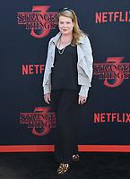 "28 June 2019 - Santa Monica, California - Catherine Curtin. ""Stranger Things 3"" LA Premiere held at Santa Monica High School. <br /> CAP/ADM/BT<br /> ©BT/ADM/Capital Pictures"