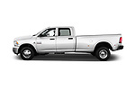 Car driver side profile view of a 2018 Ram Ram 3500 Tradesman Crew Cab Long 4 Door Pick Up