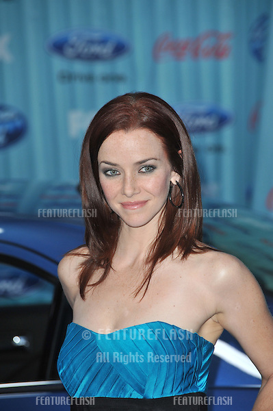 24 star Annie Wersching at the American Idol Final 13 Party at Area Nightclub, West Hollywood..March 5, 2009  Los Angeles, CA.Picture: Paul Smith / Featureflash