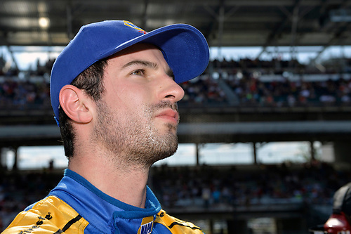 21-22 May, 2016, Indianapolis, Indiana, USA<br /> Alexander Rossi (#98)<br /> ©2016, F. Peirce Williams<br /> LAT Photo USA