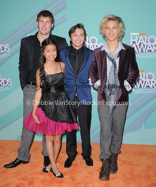 Cast of Bucket & Skinner's Epic Adventures at The 2011 TeenNick Halo Awards held at The Hollywood Palladium in Hollywood, California on October 26,2011                                                                               © 2011 Hollywood Press Agency