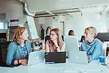 Junge Unternehmerinnen in Estland