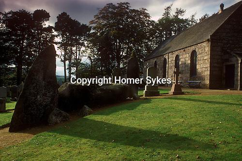 Midmar Recumbent Stone Circle,  Nr Echt, Aberdeenshire, Grampian Scotland Uk Page 147 Mysterious Britain