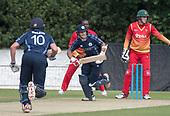 Cricket Scotland - Scotland V Namibia One Day International match at Grange CC today (Thur) - this match is the first of two ODI matches this week against Zimbabwe - Kyle Coetzer making runs - picture by Donald MacLeod - 15.06.2017 - 07702 319 738 - clanmacleod@btinternet.com - www.donald-macleod.com
