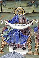 BG41188.JPG BULGARIA, RILA MONASTERY, CHURCH OF NATIVITY, frescoes