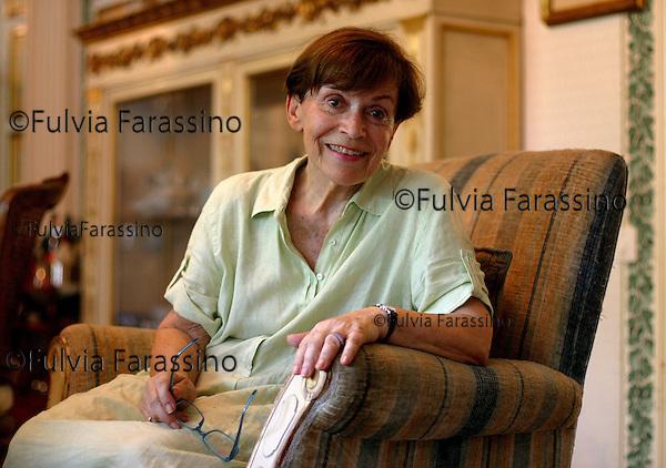 Franca Valeri.Roma 24/6/2002