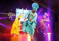 Nederland  Amstelveen 2016. Diwali ( Divali ) Festival. Hindoes vieren Divali met veel zang en dans in het stadshart van Amstelveen. Foto Berlinda van Dam / Hollandse Hoogte