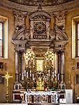 Altar, Parrocchia Santa Maria in Porto, Roman Catholic Church, Ravenna, Italy