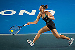 Jelena Jankovic of Serbia vs Anastasia Rodionova of Australia during the WTA Prudential Hong Kong Tennis Open at the Victoria Pack Stadium on 14 October 2015 in Hong Kong, China. Photo by Aitor Alcalde / Power Sport Images