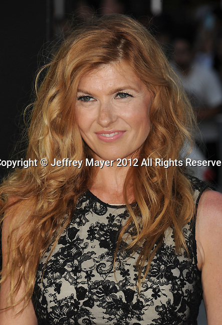 WESTWOOD, CA - JUNE 25: Connie Britton arrives at the Los Angeles premiere of 'Savages' at Mann Village Theatre on June 25, 2012 in Westwood, California.